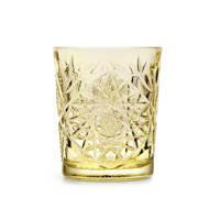 Libbey waterglas Hobstar (Ø8,9 cm), Geel