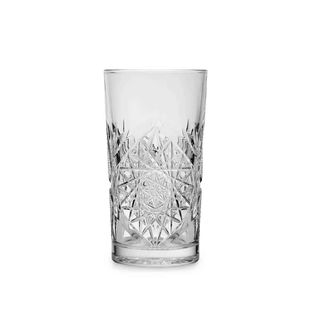 Libbey longdrinkglas Hobstar (Ø7,8 cm), Transparant