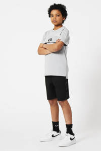 CoolCat Junior regular fit sweatshort Nelson zwart, Zwart