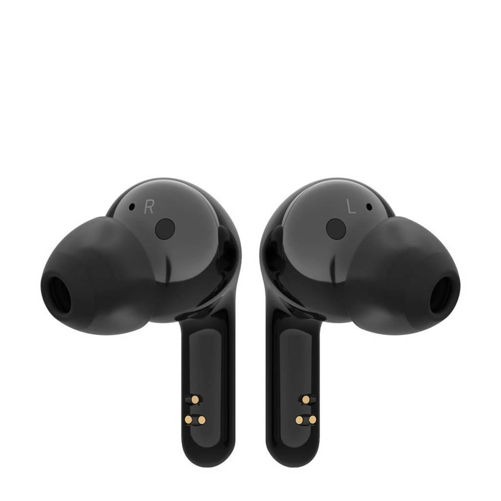 LG HBS-FN6 draadloze in-ear hoofdtelefoon (zwart), Zwart