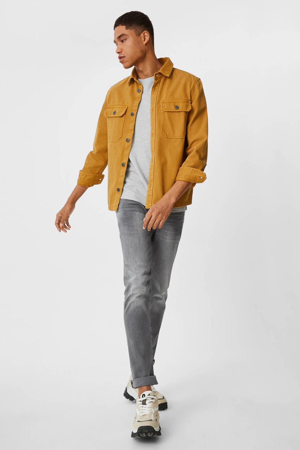 C&A Clockhouse slim fit jeans grijs, Grijs