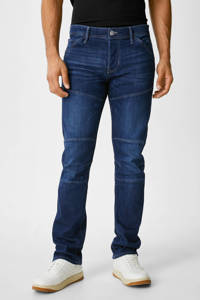 C&A straight fit jeans blauw, DkBlue18