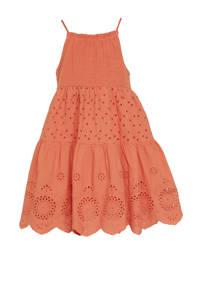 C&A Happy girls Club jurk van biologisch katoen roodbruin, Roodbruin