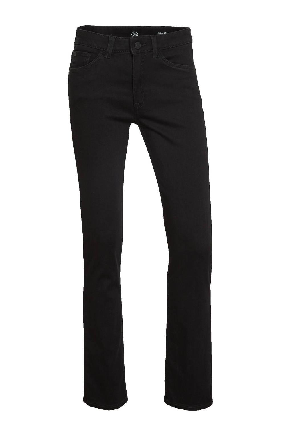 C&A The Denim straight fit jeans zwart, Zwart