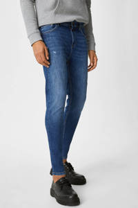 C&A Clockhouse slim fit  jeans blauw, Donkerblauw