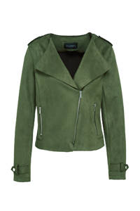 C&A The Outerwear bikerjack groen, Groen