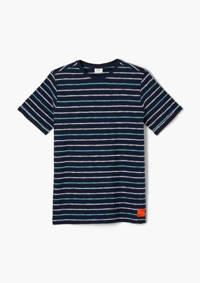 s.Oliver gestreept T-shirt blauw, Blauw