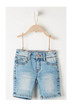 jeans bermuda blauw