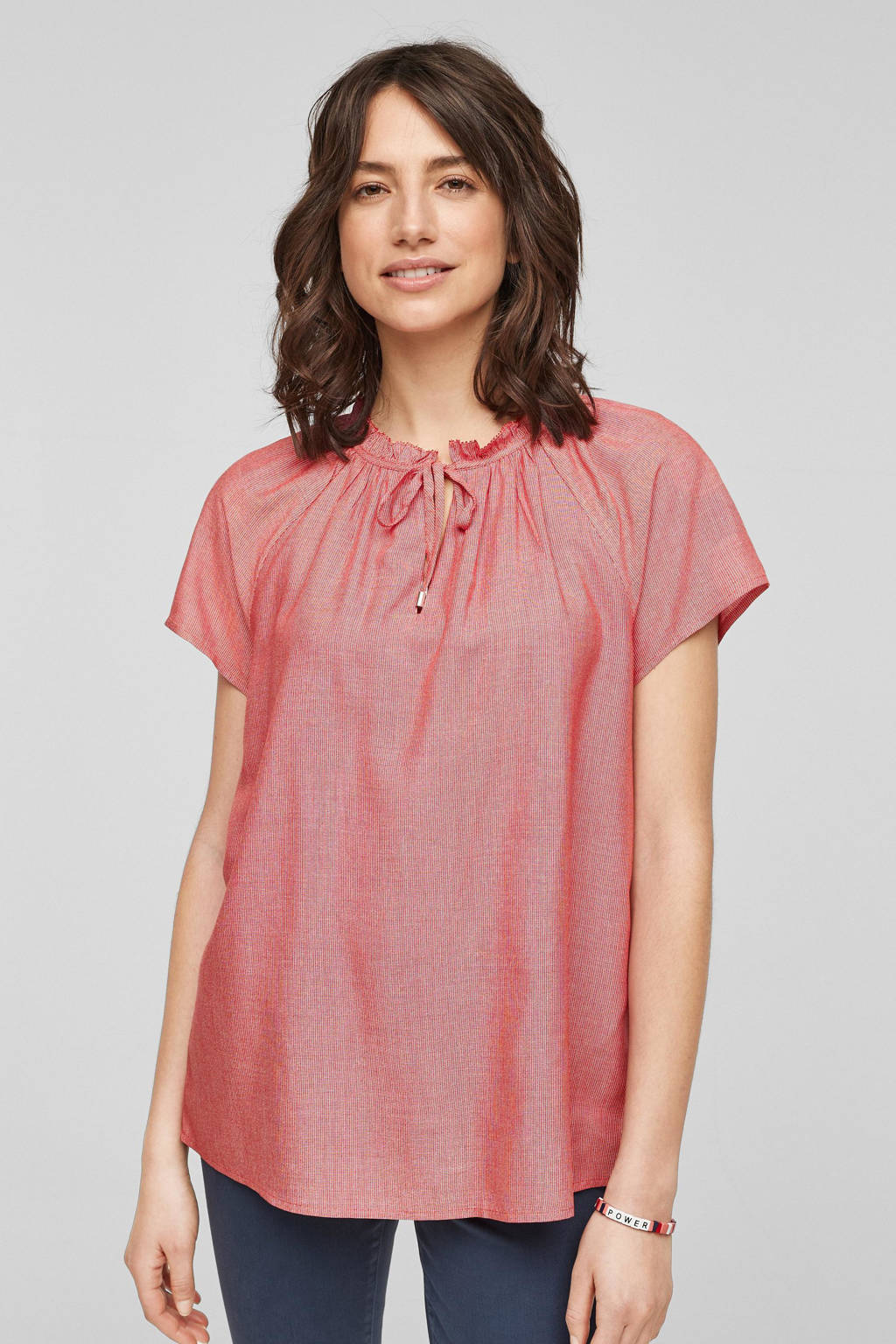 s.Oliver blouse rood, Rood
