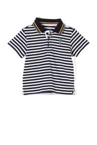 s.Oliver baby gestreepte polo marine/wit, Marine/wit