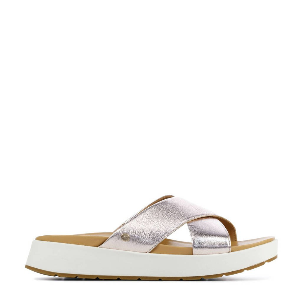 UGG Emily 1119743 leren slippers roségoud
