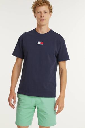 T-shirt van biologisch katoen twilight navy