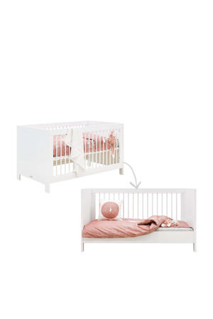 ledikant / bedbank (70x140) Lucca Wit