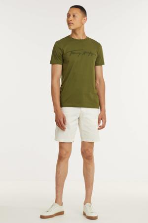 T-shirt van biologisch katoen putting green