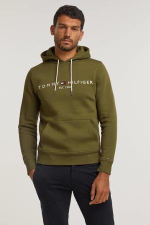 hoodie met logo putting green