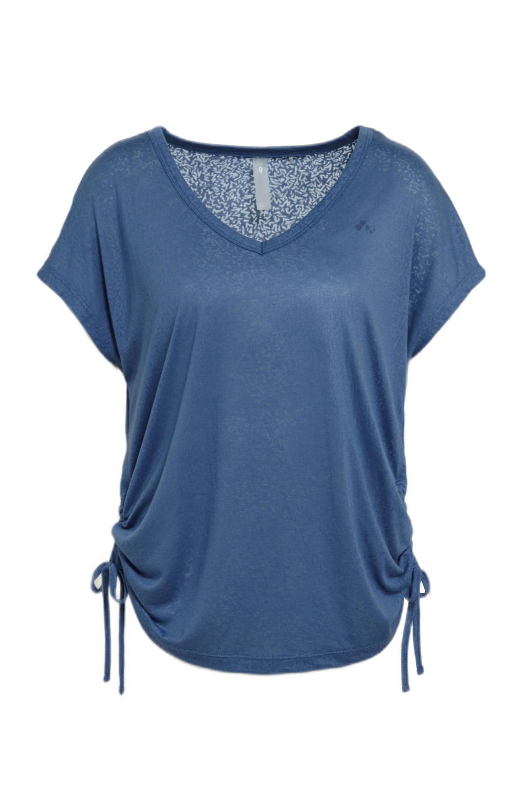 ONLY PLAY sport T-shirt ONPJIVAN blauw, Blauw