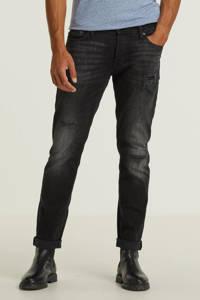 JACK & JONES JEANS INTELLIGENCE slim fit jeans JJITIM JJORIGINAL zwart, Zwart