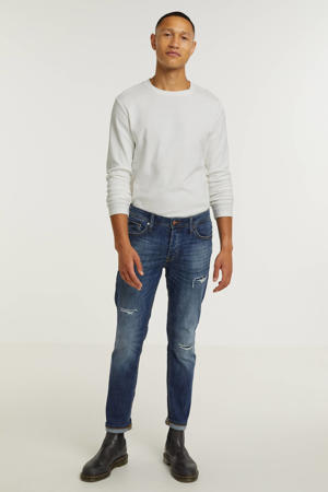 slim fit jeans JJITIM JJORIGINAL blue denim