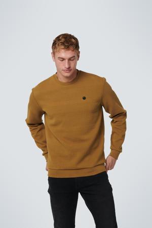 sweater met textuur olive