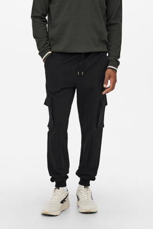 regular fit broek ONSKIAN zwart