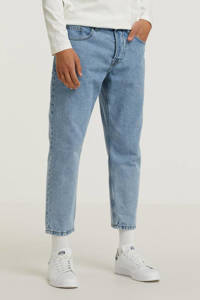 ONLY & SONS tapered fit jeans ONSAVI blauw, Blauw