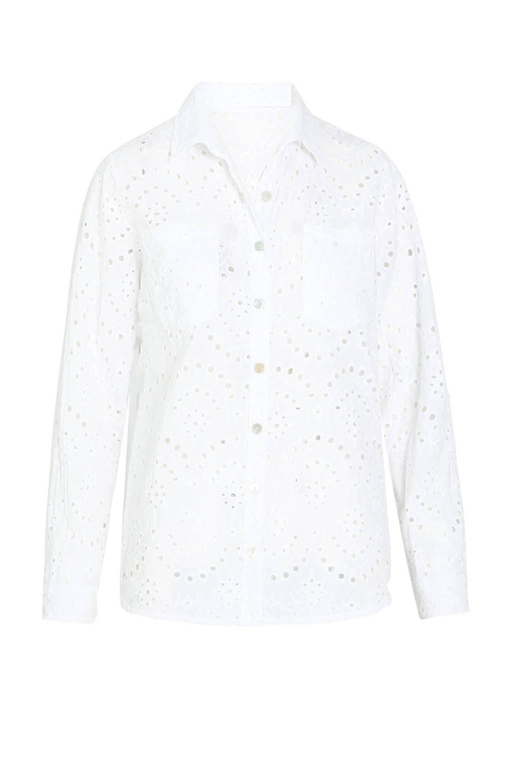 Cassis blouse blanc, Blanc