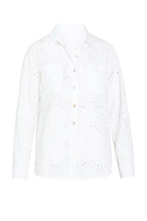 blouse blanc