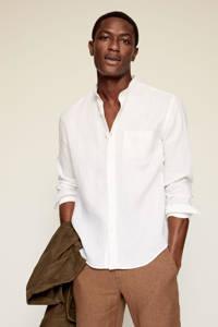 Mango Man slim fit overhemd wit, Wit