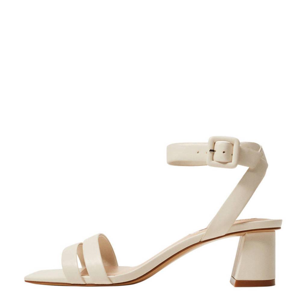 Mango   sandalettes off white, Ecru/Off white