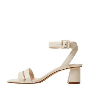 sandalettes off white