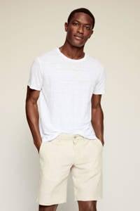 Mango Man regular fit T-shirt wit, Wit