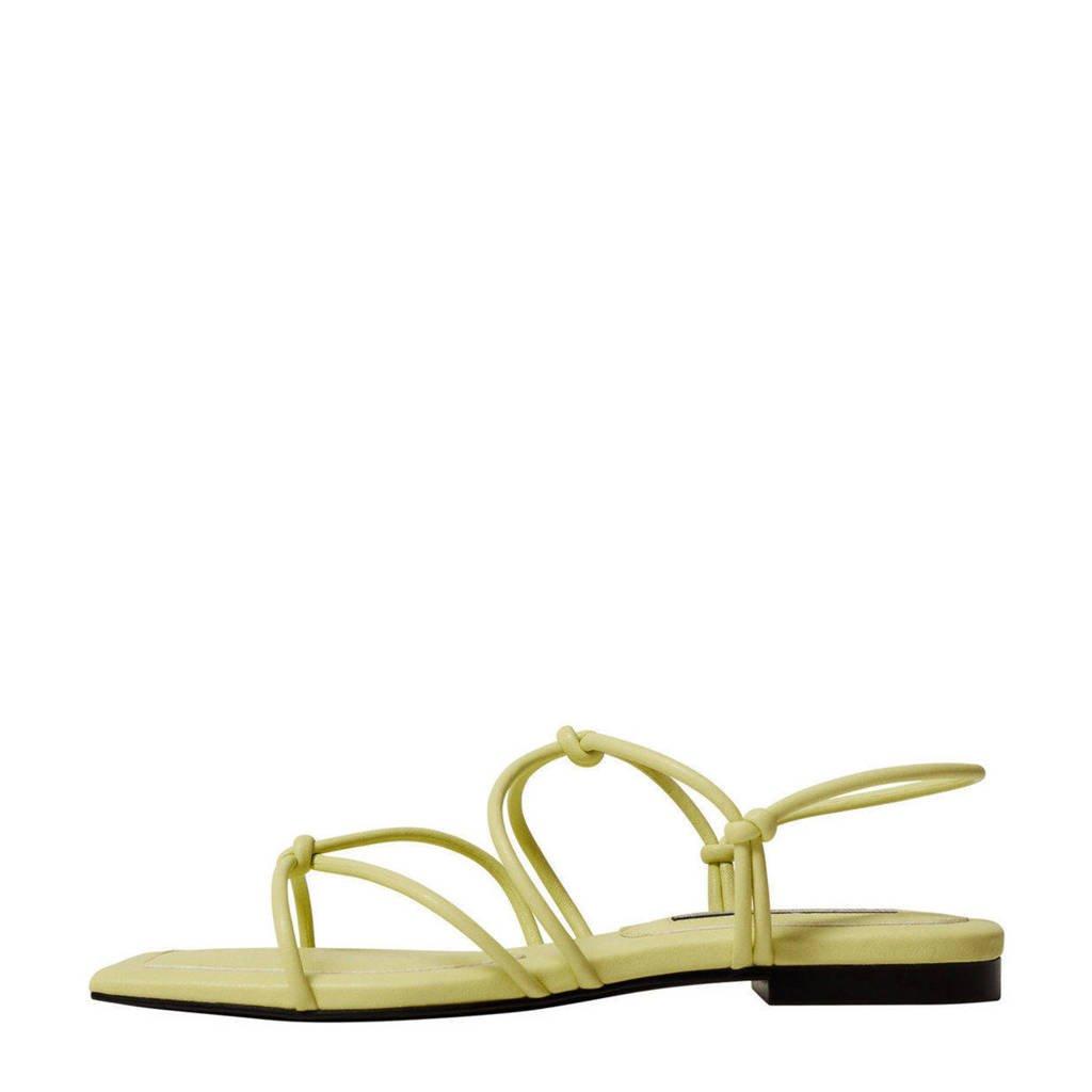 Mango   sandalen groen, Groen