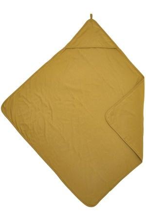 Basic jersey badcape 80x80 cm honey gold