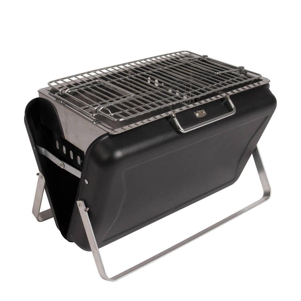 Bo-Camp  barbecue Irving, Zwart/zilver