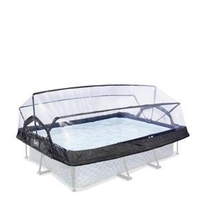 Overkapping t.b.v. Frame Pool 220x150cm