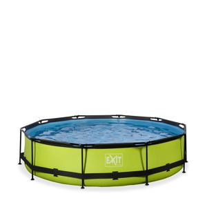 Frame Pool ø360x76cm (12v Cartridge filter) – Lime