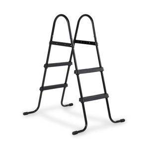 "Frame pool ladder 60-90cm (33"") - Black"