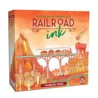 White Goblin Games Railroad Ink: rode versie dobbelspel