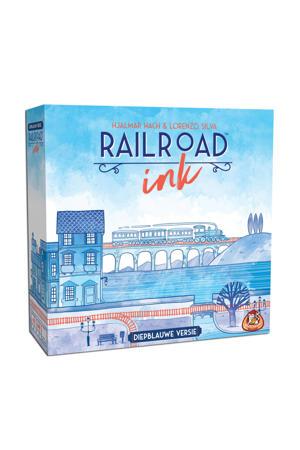 Railroad Ink: diepblauwe versie dobbelspel