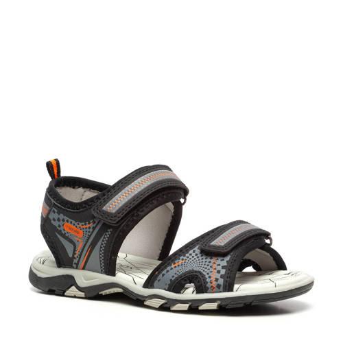 Scapino Blue Box sandalen zwart/grijs