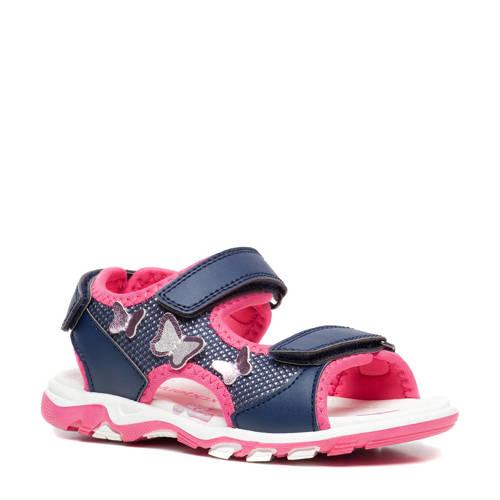 Scapino Blue Box sandalen blauw/roze