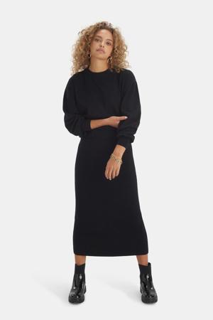 gebreide trui Knit zwart