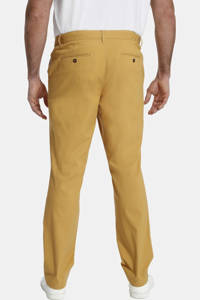 Charles Colby loose fit chino BARON CHANDLER Plus Size geel, Geel