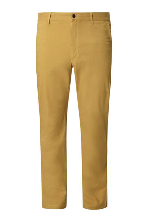 loose fit chino BARON CHANDLER Plus Size geel