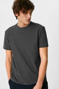 C&A gestreept T-shirt donkerblauw, Donkerblauw