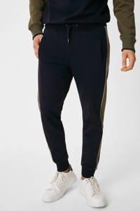 C&A joggingbroek donkergroen/donkerblauw, Donkergroen/donkerblauw