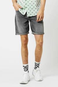 America Today regular fit jeans short Robert grijs, Grijs