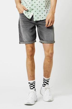 regular fit jeans short Robert grijs
