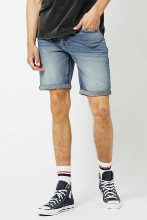 regular fit jeans short Robert lichtblauw