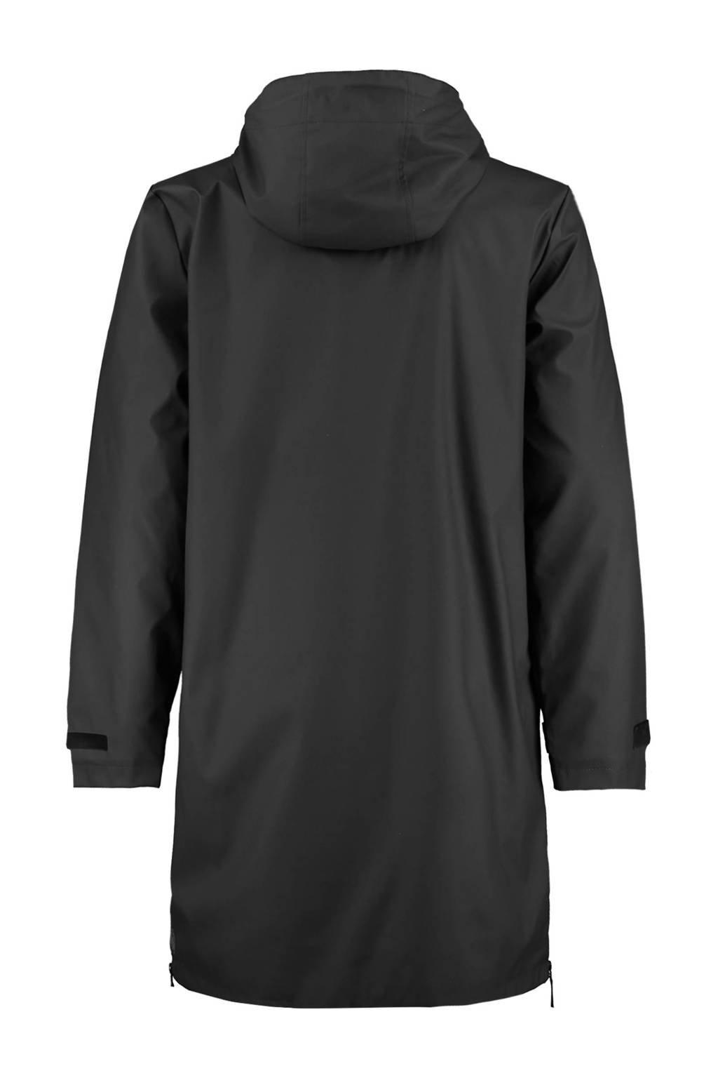 America Today unisex regenjas van gerecycled polyester zwart, Zwart